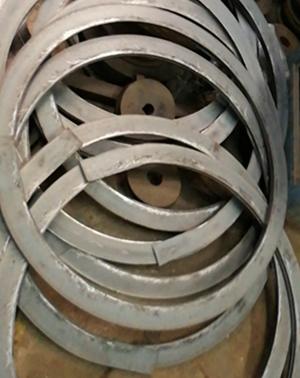 不銹鋼扁鋼卷圓 法蘭片 彎圓不銹鋼扁條