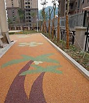 透水胶粘石路面-卓峰(杭州)科技有限公司