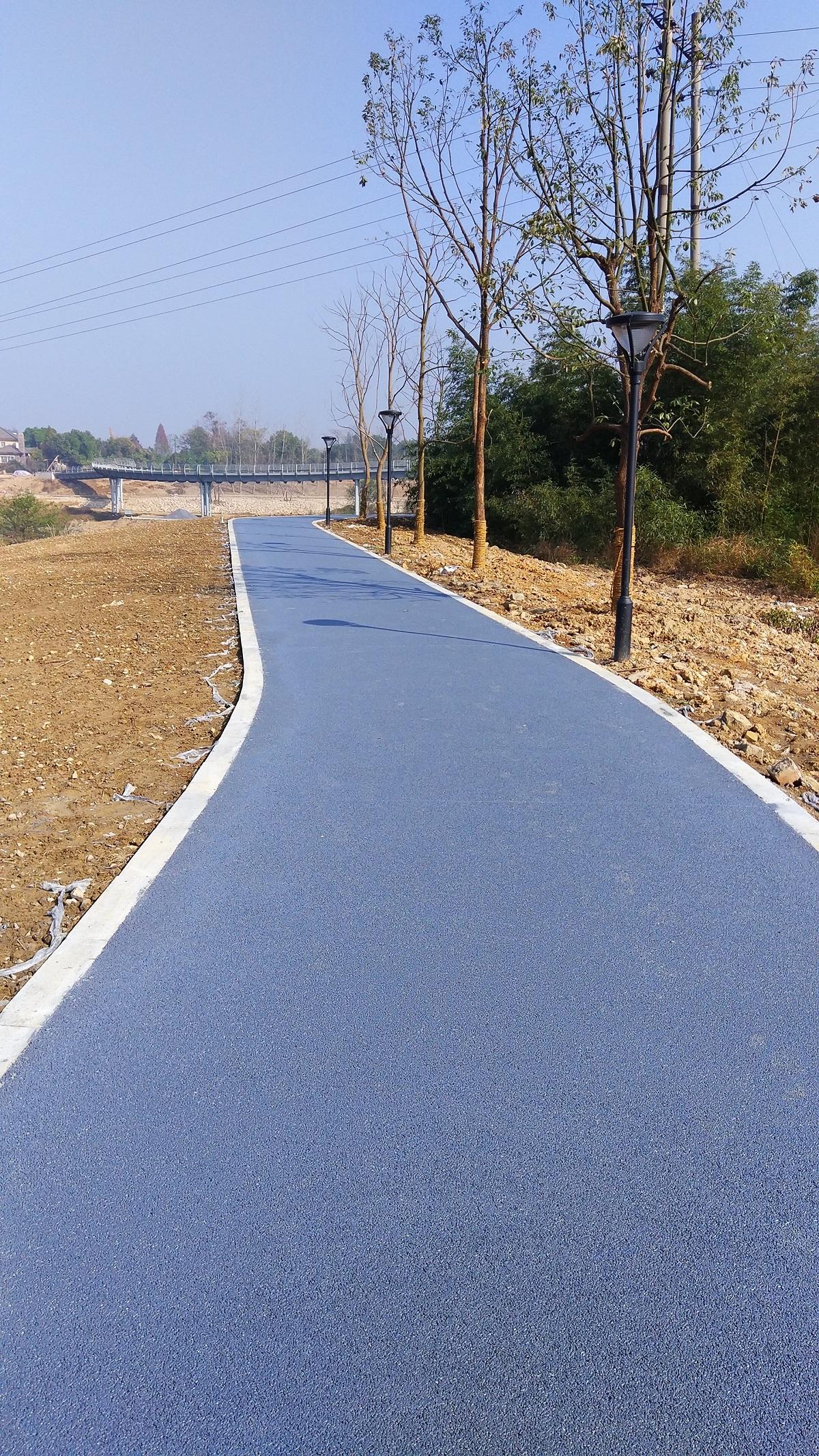 彩色透水混凝土路面-卓峰(杭州)科技有限公司