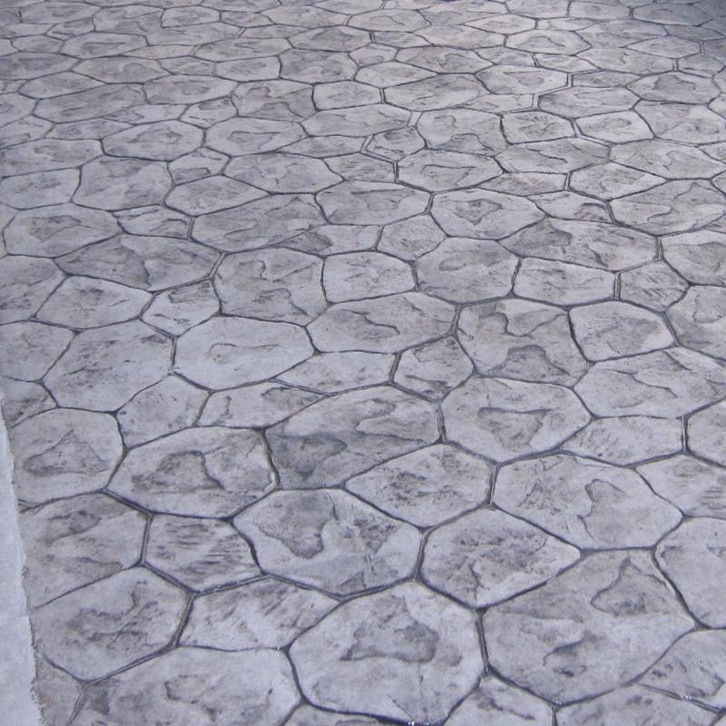 压花地坪路面系统