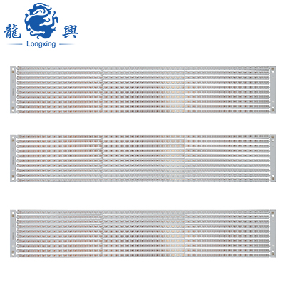 廠家直銷 鋁基板燈條 2835硬燈條鋁基板 pcb板線路板