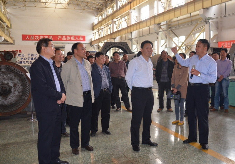 卧龙电气南阳防爆电机集团召开全体干部会议