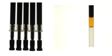 OPG50检测中性笔硅油高度及均匀度