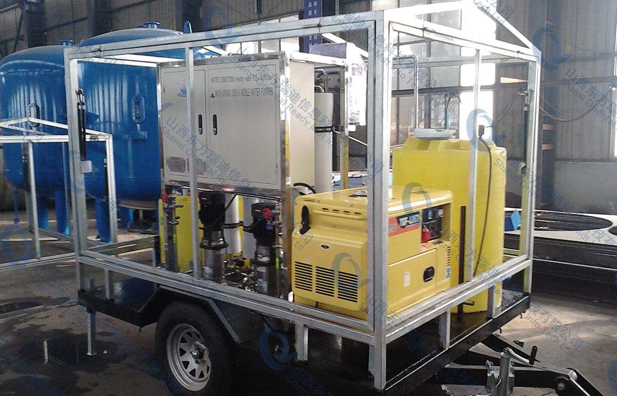 移动式供水设备