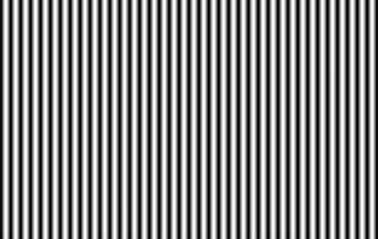 渐变、正弦波空间频率测试卡/标定板