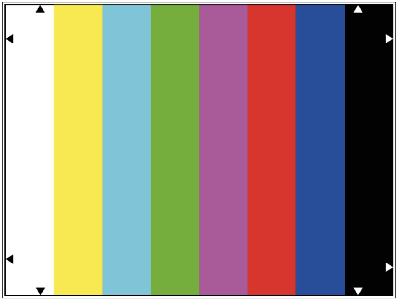 彩色测试卡