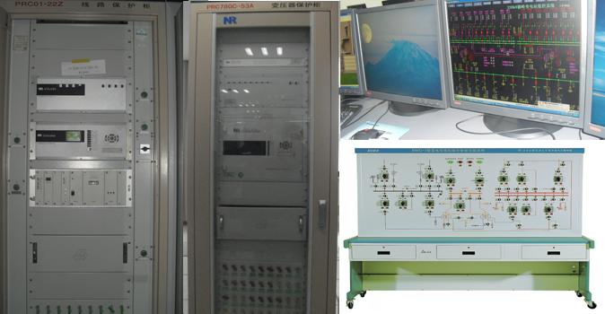 FSBX发电、输电、变电综合实训系统
