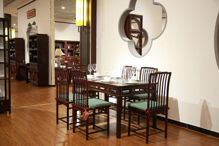 明式餐桌七件套款式2