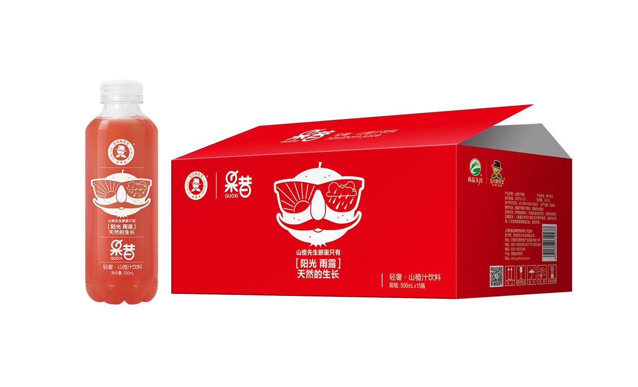 500ml ×15轻奢果昔山楂汁饮料