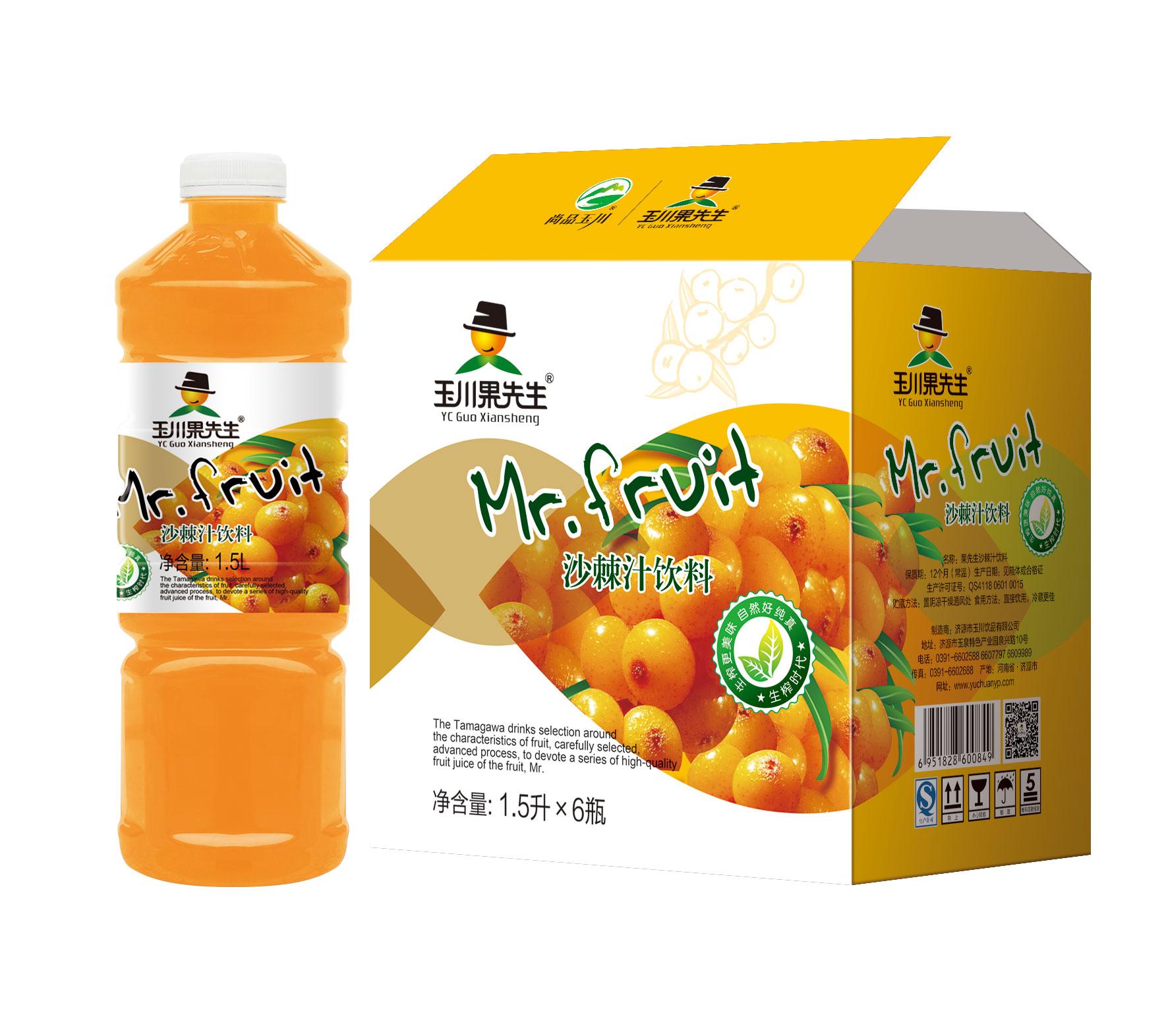 1.5L×6果先生沙棘汁饮料