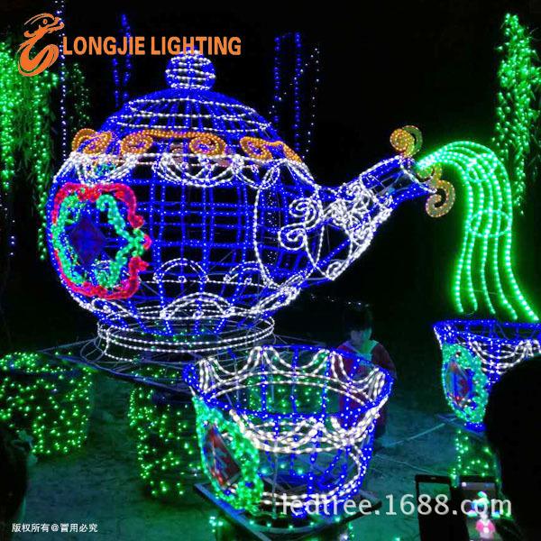 时光隧道 灯展 灯会 灯光节 免费设计 厂家直销