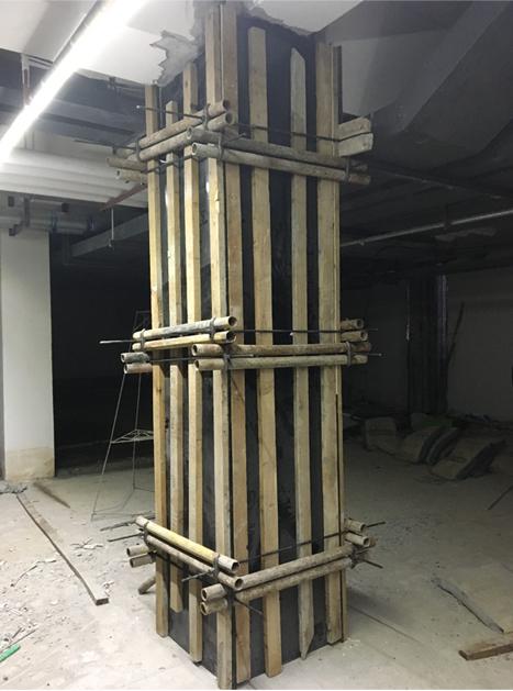 柱增大截面