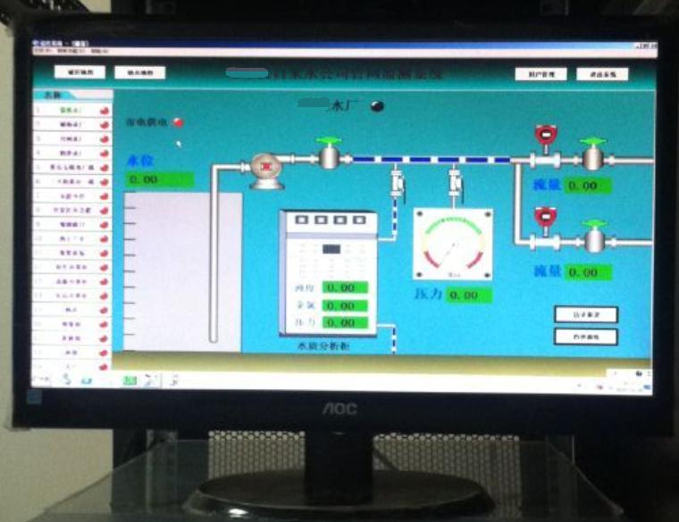 管网压力流量监测系统
