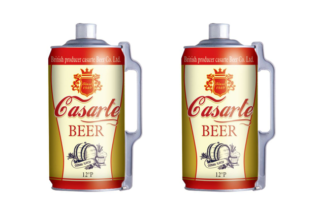 精酿啤酒2升