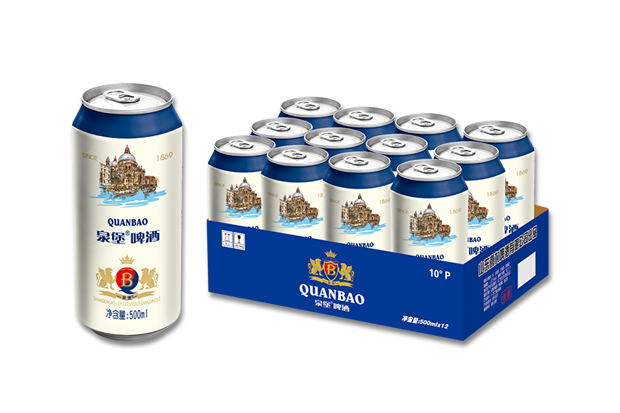 泉堡啤酒500ml×12罐