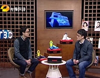 湖南卫视先锋乒羽频道《兵器》鹰尔凯羽毛球鞋B-S65系列专题节目