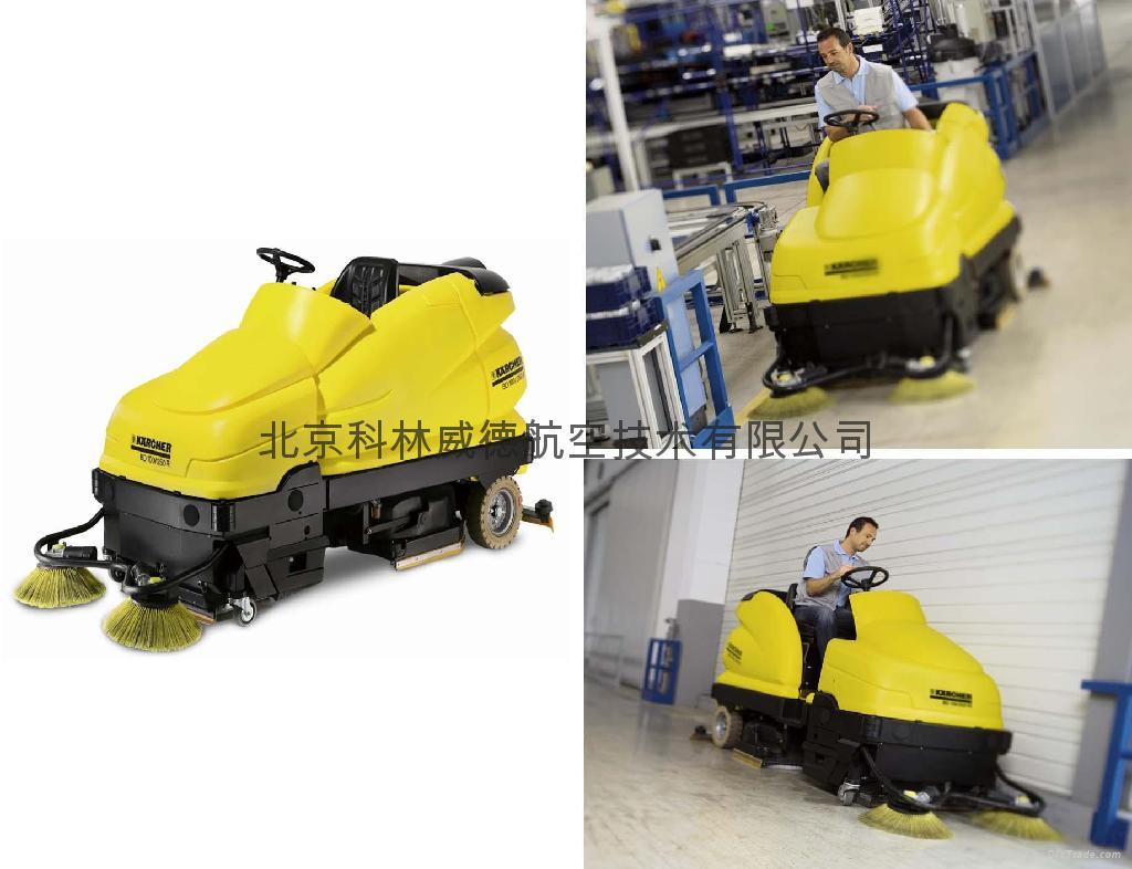 BD100/250R 驾驶式刷扫一体机