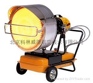 红外线辐射柴油/煤油暖风机