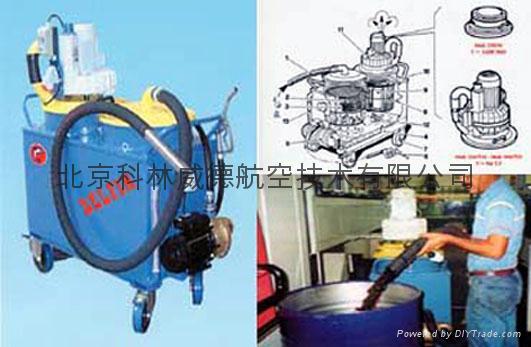 Tecnoil150 250 450T55 Industrial vacuum