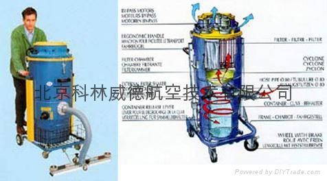 DM35 SGA Industrial vacuum
