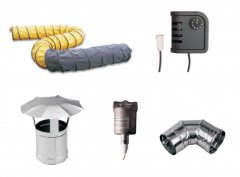 Spare parts for industrial heater