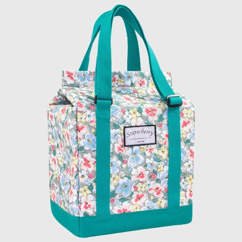 蛋糕保冰袋 - 盒型保冷袋,三种开口变化的保温袋,可适应不同体积的食品
