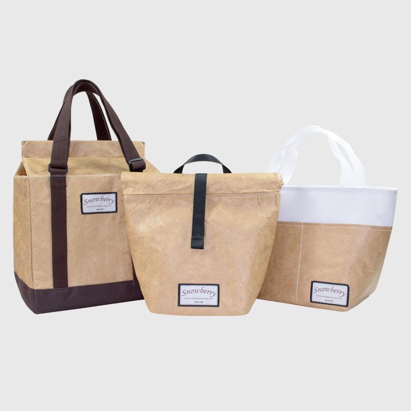 防水牛皮纸保温袋 - 全防水,兼具保温保冷,最文青的环保食物袋