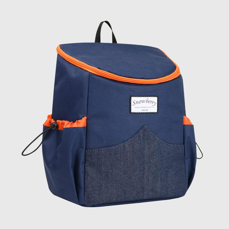 后背型保温冷袋 - 野餐,露营,旅行餐袋,便当水果零食都好放