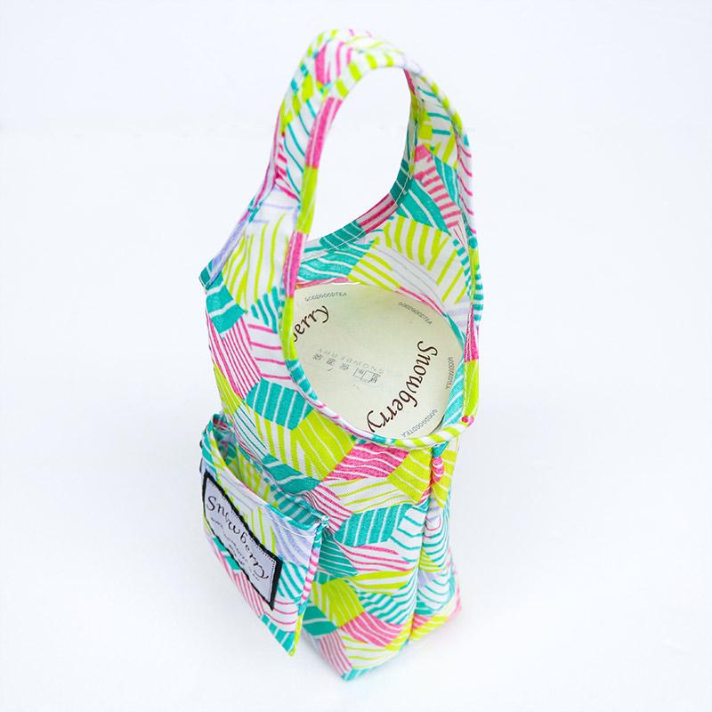 饮料提袋钥匙圈-环保 口袋收折 保温瓶提袋 冰坝杯 各式尺寸都适用