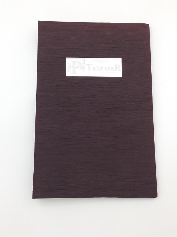 台湾装帧布样册封面