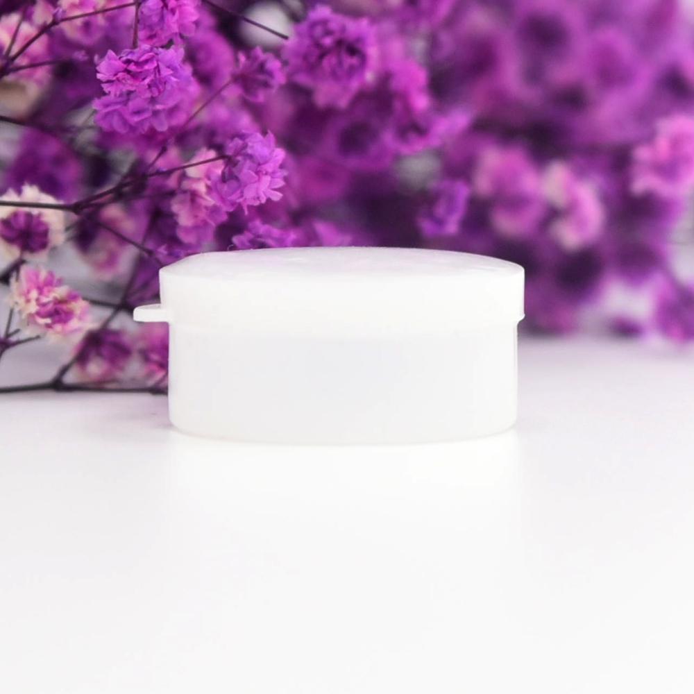 5/10/20/30/50克白色塑料軟膏盒,PE材質,用于小藥膏化妝品面霜分裝盒