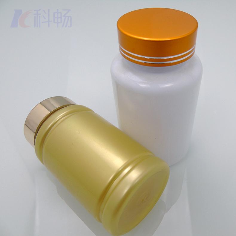 保健品塑料瓶,PET材質,用于雙色蓋塑料瓶,膠囊分裝瓶,鈣片瓶,壓片糖果瓶,支持定制