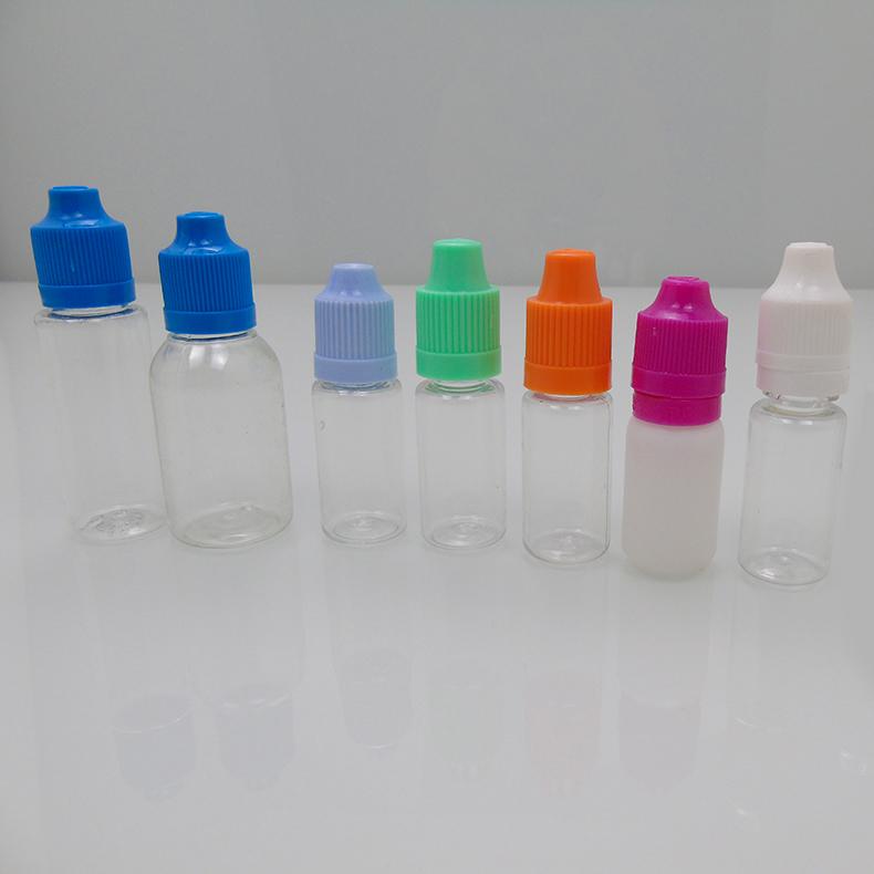 3-10ml壓旋蓋電子煙油瓶,PET材質,用于煙油瓶,滴液瓶,眼藥瓶,印油瓶,色素瓶,香精瓶