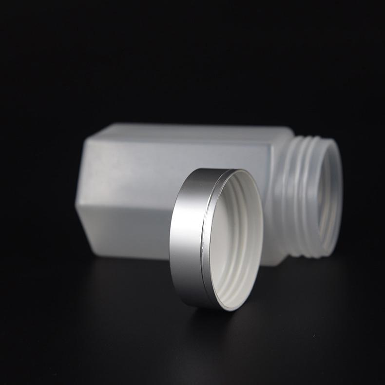 六角塑料瓶,HDPE材質,用于食品包裝,中藥材包裝瓶,配金屬蓋