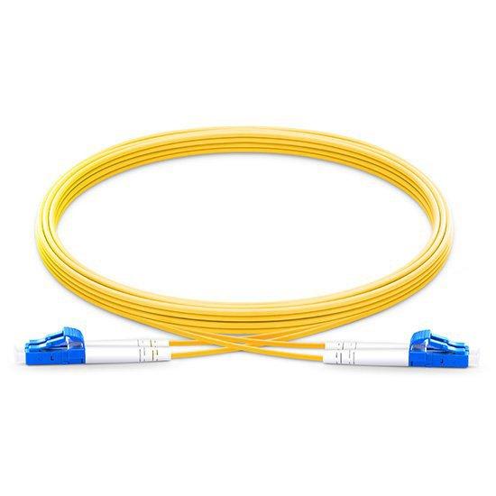 电信级弯曲不敏感LC/UPC-LC/UPC双工单模OS2光纤跳线 低插损 高回波