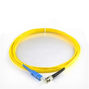 SCST双工单模光纤跳线