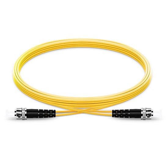 电信级弯曲不敏感ST/UPC-ST/UPC双工单模OS2光纤跳线 低插损 高回波