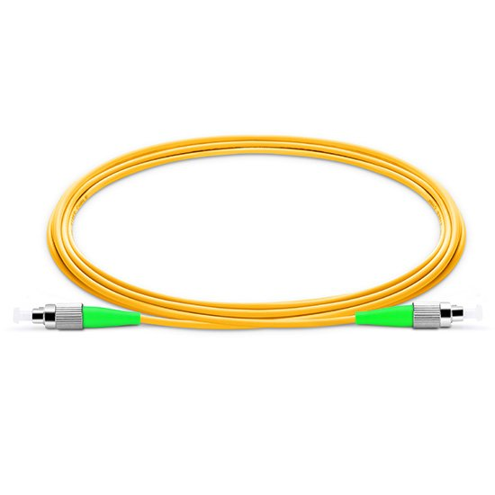 广电专用弯曲不敏感FC/APC-FC/APC单工单模光纤跳线 低烟无卤阻燃型