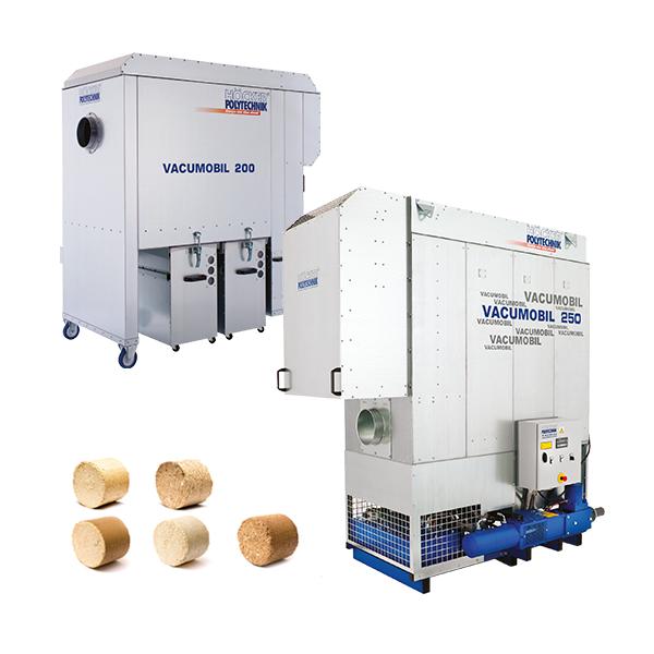 德国Hocker Polytechnik 为小型工坊开发的紧凑型中央除尘系统,内置自动灭火装置,防爆机身,粉尘压缩处理。
