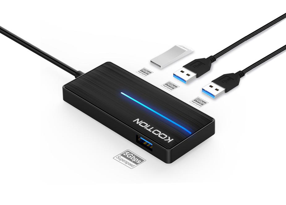4 USB 3.0 Ultra Slim Data Hub