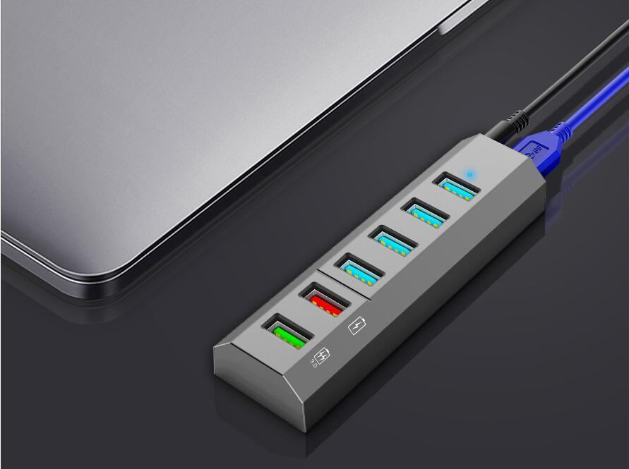 4-PORT Trapezoid USB 3.0 HUB