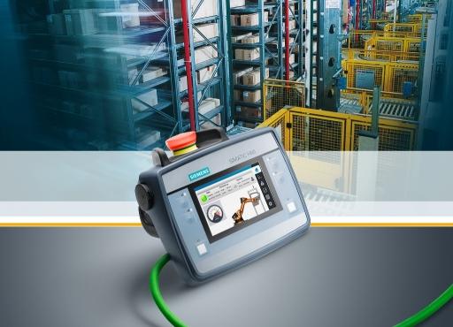 西门子贝得电机推出小巧的移动操作和监控终端Simatic HMI KTP400F