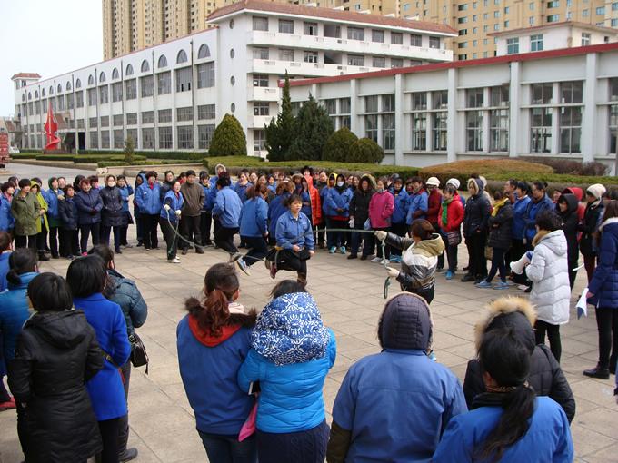 皖南电机办事处华能传动员工庆祝三八妇女节