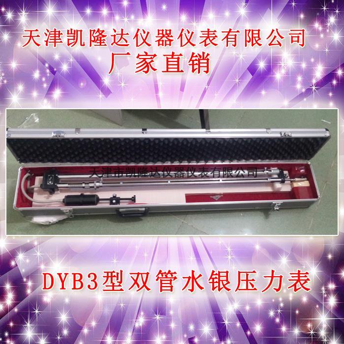 双管水银压力表DYB3