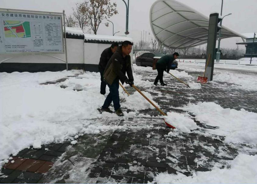 2018清雪除冰攻坚战