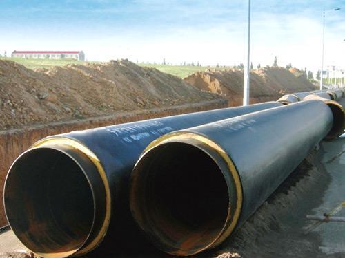城市供暖管道聚氨酯保温管案例
