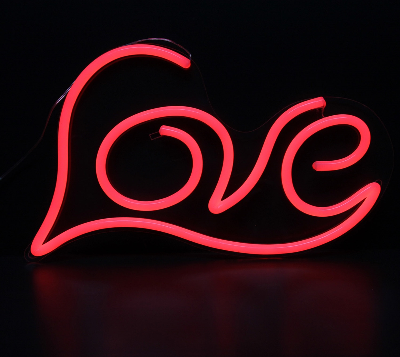 LED Neon Sign LOVE