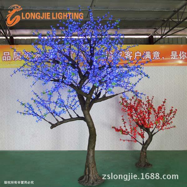 2268灯高3米大樱花仿真树蓝色 (11)副本副本