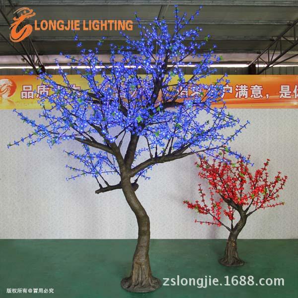 2268灯高3米大樱花仿真树蓝色 (10)副本副本