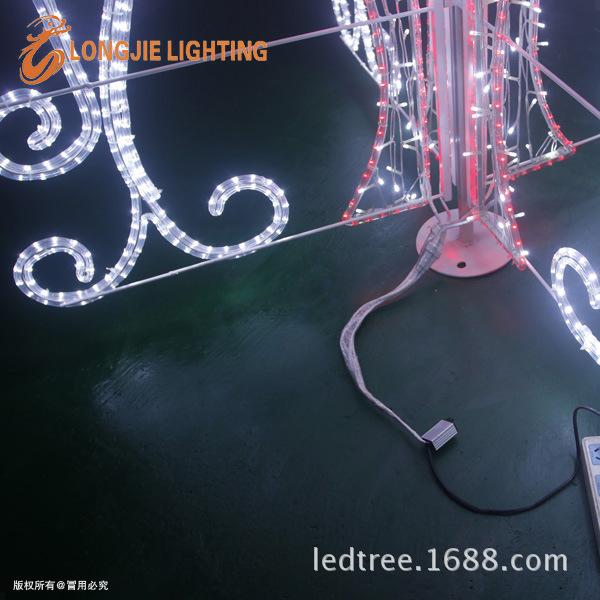 高150CM 宽130CM 喷泉图案灯 LJ-PQTAD15